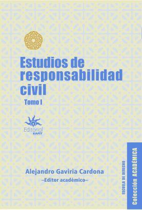 Cubierta para Estudios de responsabilidad civil. Tomo I