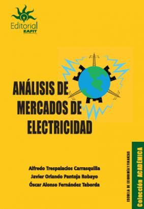 Cubierta para Análisis de mercados de electricidad