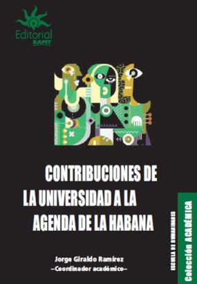 Cubierta para Contribuciones de la Universidad a la agenda de La Habana