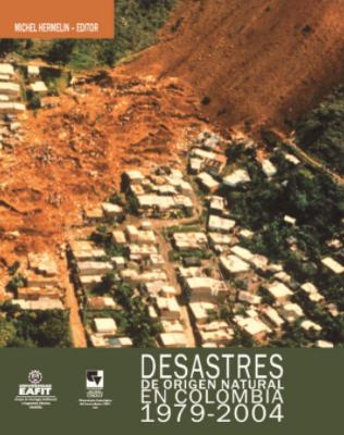 Cubierta para Desastres de origen natural en Colombia 1979-2004