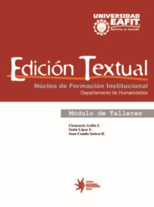 Cubierta para Edición Textual