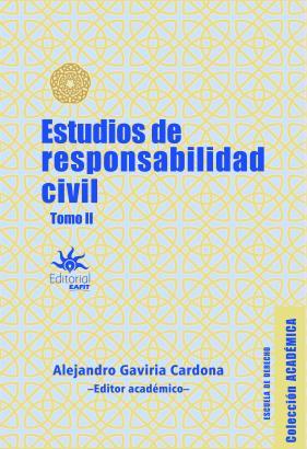 Cubierta para Estudios de responsabilidad civil. Tomo II